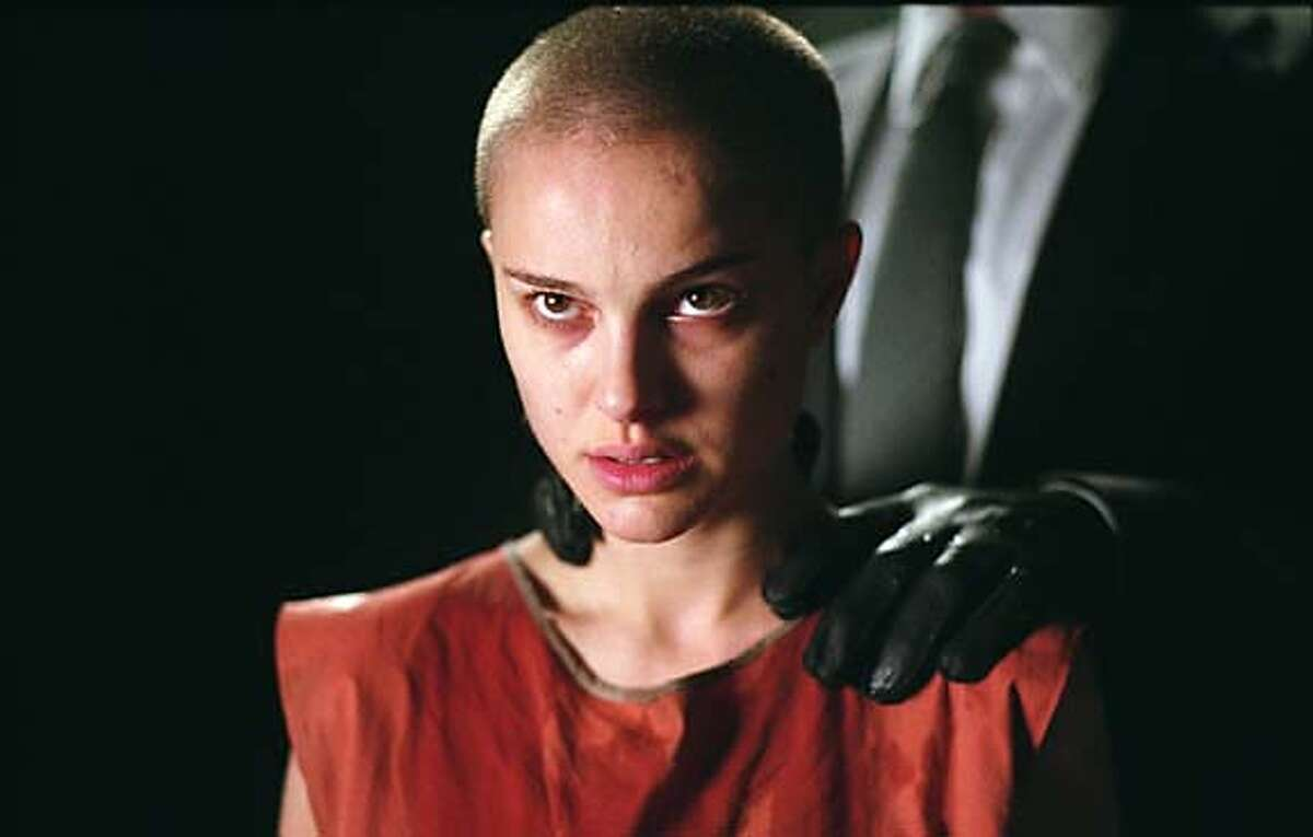NATALIE PORTMAN stars as Evey in Warner Bros. Pictures� and Virtual Studios� action thriller �V for Vendetta,� distributed by Warner Bros. Pictures. PHOTOGRAPHS TO BE USED SOLELY FOR ADVERTISING, PROMOTION, PUBLICITY OR REVIEWS OF THIS SPECIFIC MOTION PICTURE AND TO REMAIN THE PROPERTY OF THE STUDIO. NOT FOR SALE OR REDISTRIBUTION.