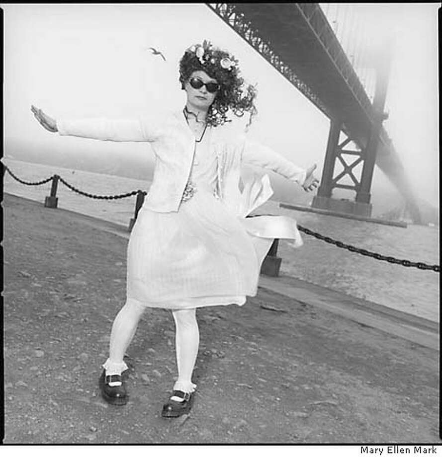 Laura Albert's sister, who posed as J.T. LeRoy, photographed in San Francisco. Photographed by Mary Ellen Mark on 3/15/06. One time use Photo: Mary Ellen Mark