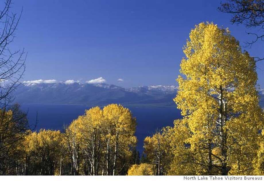TRAVEL NORTH TAHOE -- Fall color at North Lake Tahoe. Photo courtesy North Lake Tahoe Visitors Bureaus Photo: HO