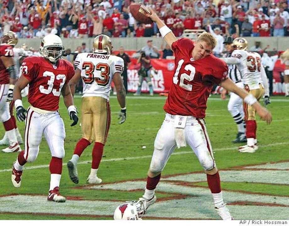 Josh McCown had 19 starts for the Arizona Cardinals. Associated Press file photo, 2004, by Rick Hossman