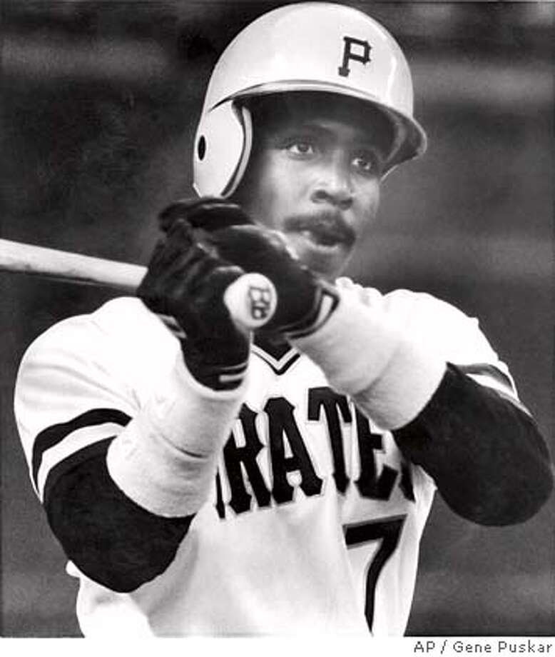 Pittsburgh Pirates' Barry Bonds warms up on the deck circle before his first major league at-bat during the first inning of play against the Los Angeles Dodgers in Pittsburgh, May 30, 1986. (AP Photo/Gene Puskar) Photo: Gene Puskar