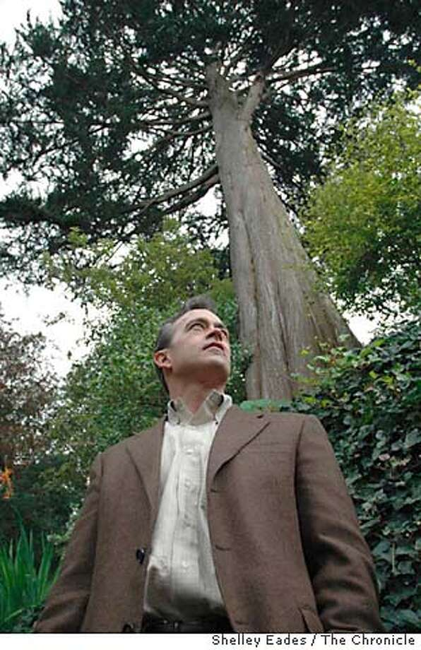 """Mike Sullivan, author of """"The Trees of San Francisco."""" Chronicle photo by Shelley Eades"""