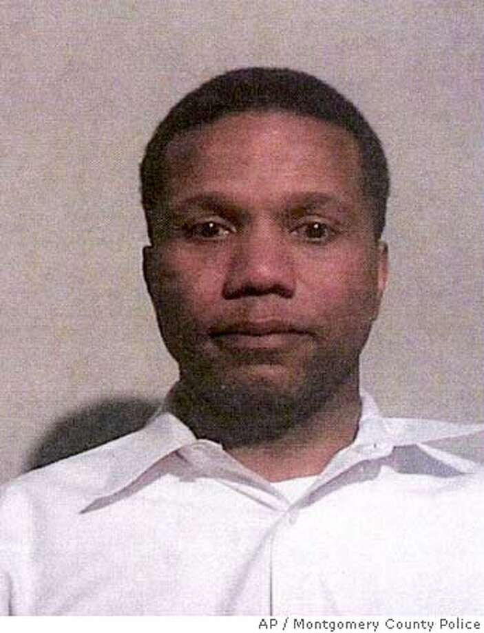 This photo provided Friday, March 10, 2006, by Montgomery County Police, shows Claude Alexander Allen, 45, of Gaithersburg, Md., Allen, former domestic policy adviser to President Bush, was arrested Thursday and charged with theft scheme over $500 and theft over $500 for allegedly receiving phony refunds at department stores. He was released on his own recognizance. (AP Photo/Montgomery County Police) Photo: Handout