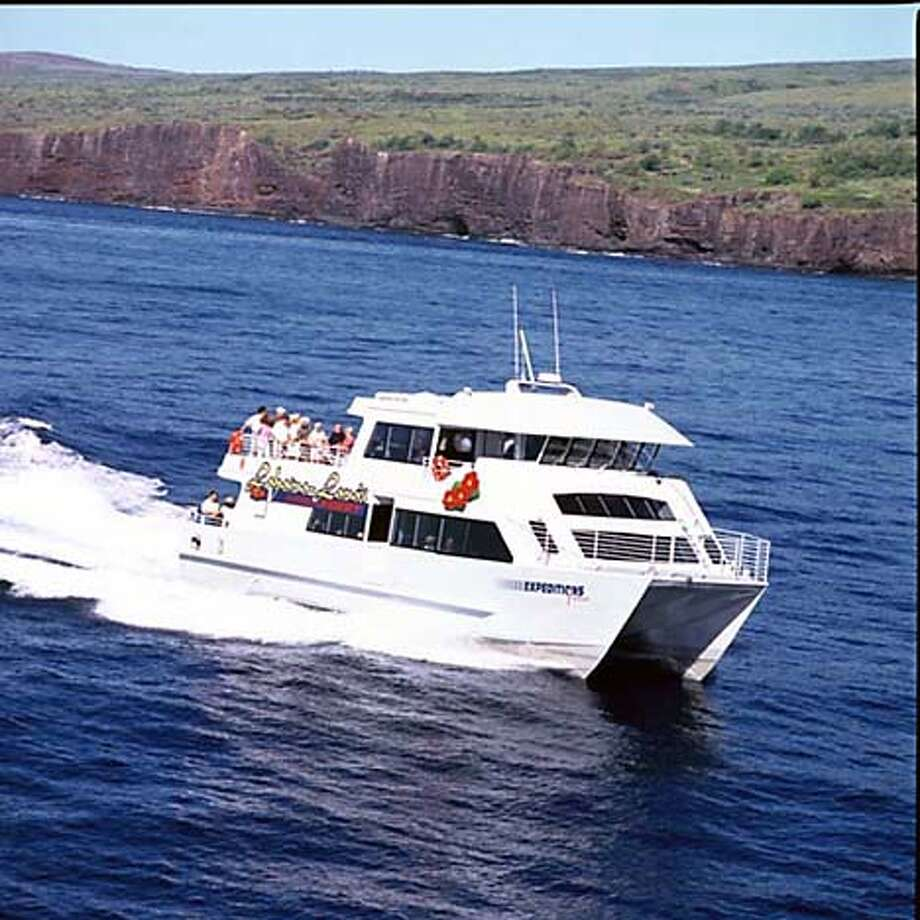Ferries link Lahaina with the island of Lanai. Photo courtesy of Expeditions