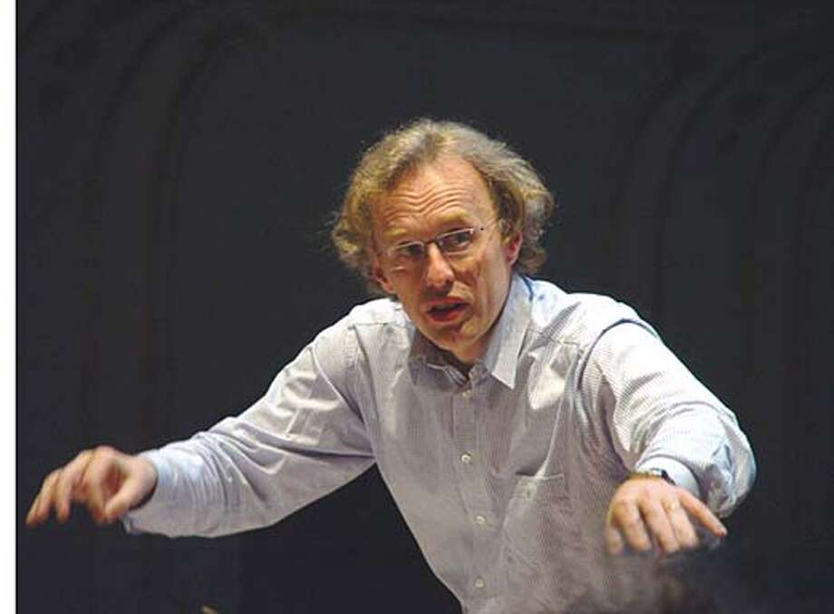 Martin Haselbock is guest conductor with the SF Symphony Chorus in a program of Mozart and Haydn. Credit: Handout Photo: Ho