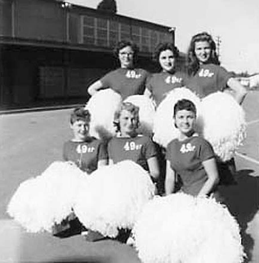 SF 49'ers First Cheerleader Carol Ann Kappen Dies at Age 63. Carol is in the lower left. Photo: V