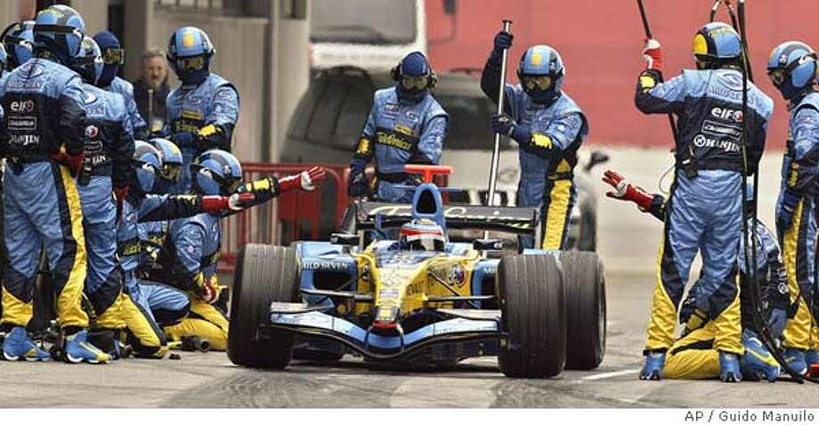 F1 TESTS Photo: GUIDO MANUILO