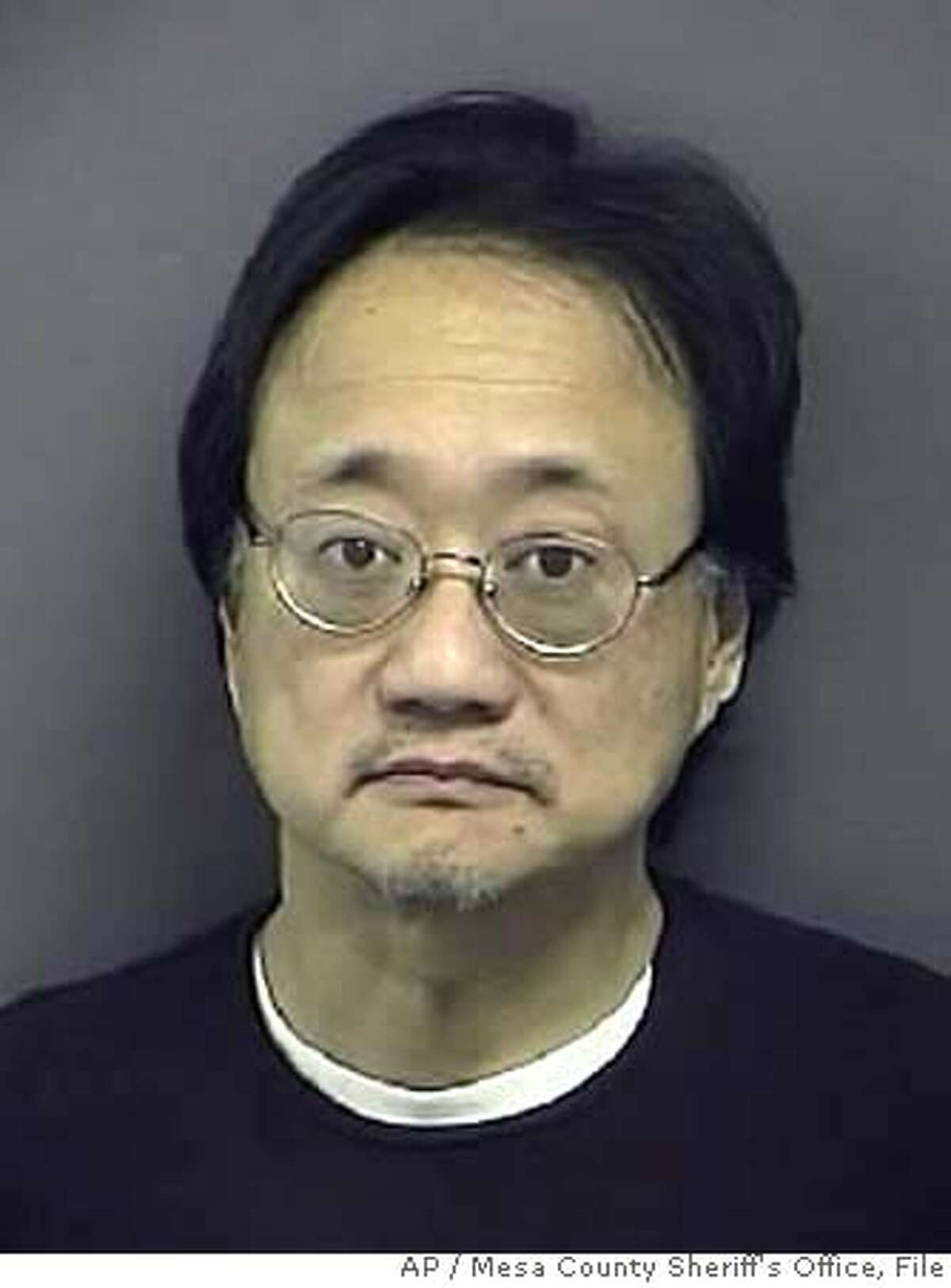 An undated photo provided by the Mesa County Sheriff's Office shows Norman Hsu, a fundraiser who is under guard in a Colorado hospital after failing to show up for a bail hearing last week in California. He had been wanted as a fugitive for missing his sentencing on a 1991 grand theft case to which he had pleaded no contest. (AP Photo/Mesa County Sheriff's Office) UNDATED PHOTO PROVIDED BY MESA COUNTY SHERIFF'S OFFICE