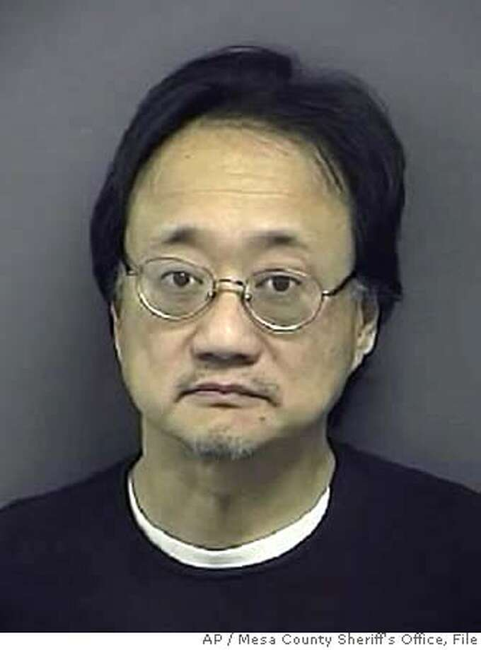 An undated photo provided by the Mesa County Sheriff's Office shows Norman Hsu, a fundraiser who is under guard in a Colorado hospital after failing to show up for a bail hearing last week in California. He had been wanted as a fugitive for missing his sentencing on a 1991 grand theft case to which he had pleaded no contest. (AP Photo/Mesa County Sheriff's Office) UNDATED PHOTO PROVIDED BY MESA COUNTY SHERIFF'S OFFICE Photo: Mesa County Sheriff's Office