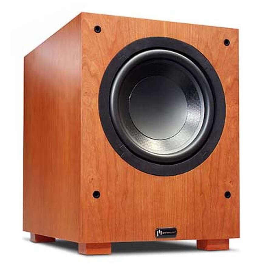 Bring the boom, best subwoofers: Aperion Intimus S-10.
