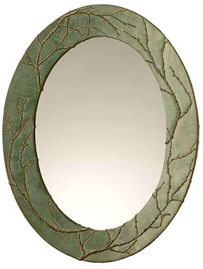 Blindspot Mirrors by Deborah Childress; Plum Oval Photo: Lrt
