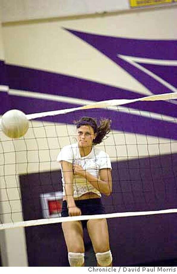 PLEASANTON, CA - SEPTEMBER 17: Amador Valley volleyball star Sophia Dunworth at a recent practice September 17, 2007 in Pleasanton, California. (Photo by David Paul Morris/The Chronicle) Photo: David Paul Morris