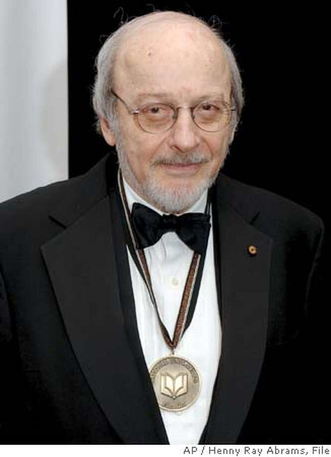 "**FILE**National Book Award finalist E.L.Doctorow poses for photos before the award ceremonies in New York, on November 16, 2005. Doctorow's ""The March,"" won the PEN/Faulkner award for fiction, the PEN/Faulkner foundation announced Tuesday, Feb. 21, 2006.(AP Photo/Henny Ray Abrams) A NOV 16 2005 FILE PHOTO Photo: HENNY RAY ABRAMS"