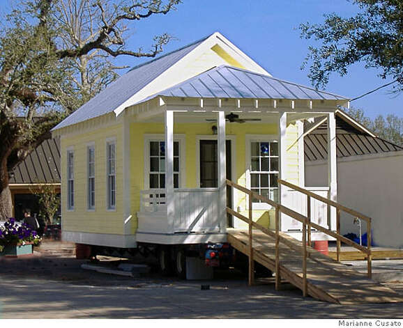 The little house that roared a tiny cottage designed for for Where can i buy a katrina cottage