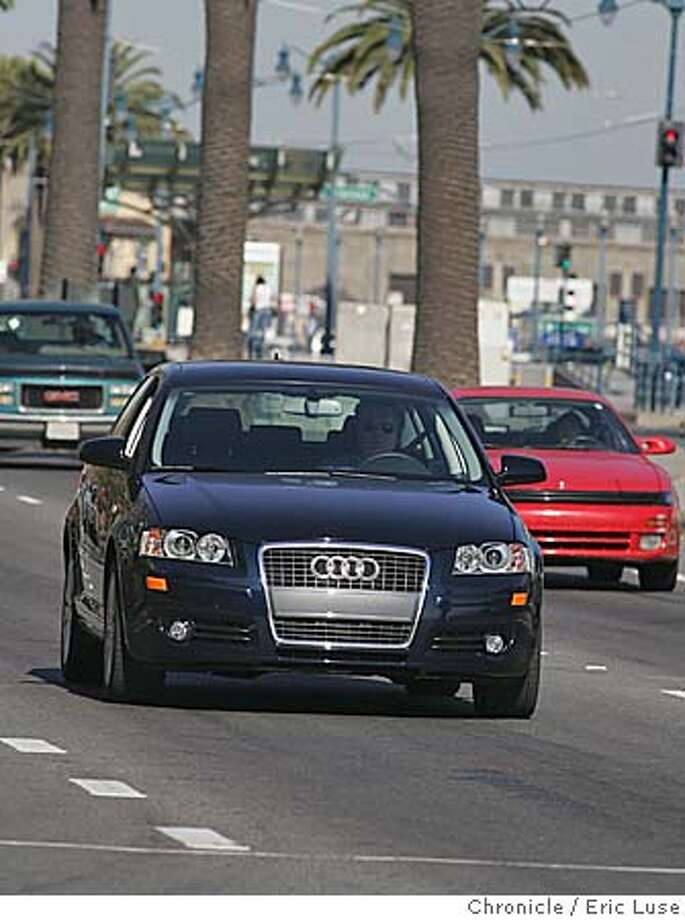 audio0_029_el.JPG  Audi A3 this week for upcoming auto section shot along the Embarcadero. Event on audio0_029_el.JPG in San Francisco Eric Luse / The Chronicle Photo: Eric Luse