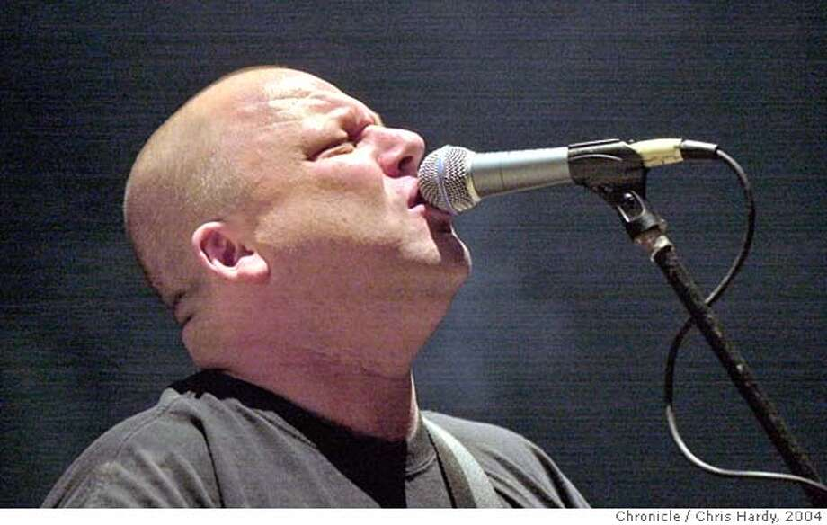 Pixies01_069_ch.JPG  Lead singer Frank Black.  The Pixies in their first area gig in a long time is on UC Davis campus.  at Davis,CA on 4/29/04  San Francisco Chronicle/Chris Hardy Ran on: 06-13-2004  The reunited Pixies, featuring lead singer Frank Black, will perform in August at the Greek Theatre in Berkeley. ALSO Ran on: 08-14-2005  Two Gallants: recording &quo;Throes&quo; follow-up. MANDATORY CREDIT FOR PHOTOG AND SF CHRONICLE/ -MAGS OUT Photo: Chris Hardy