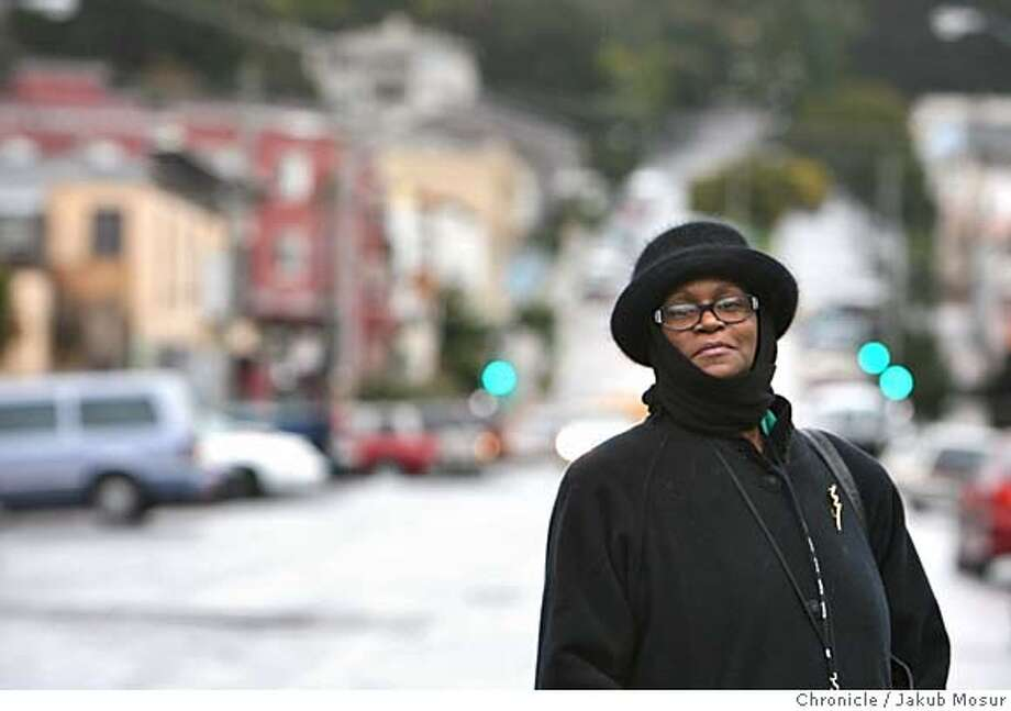 Bayview28_02_JMM.JPG  Bayview resident Patricia Wright is among those who oppose the redevelopment agency coming into her neighborhood in San Francisco on Monday, Feb. 27, 2006. Event on 2/27/06 in San Francisco. JAKUB MOSUR / The Chronicle MANDATORY CREDIT FOR PHOTOG AND SF CHRONICLE/ -MAGS OUT Photo: JAKUB MOSUR