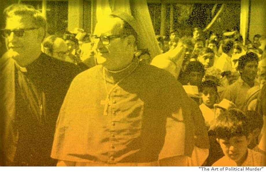 "Bishop Juan Gerardi in Quich�, circa 1975. Photo from ""The Art of Political Murder"""
