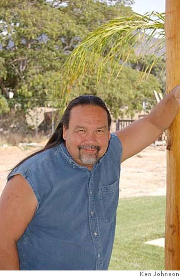 Author Gordon Johnson. Ken Johnson Ran on: 09-16-2007  Gordon Johnson is a Cahuilla-Cupe�o from the Pala Reservation in San Diego County and author of &quo;Rez Dogs Eat Beans.&quo; Photo: Ken Johnson