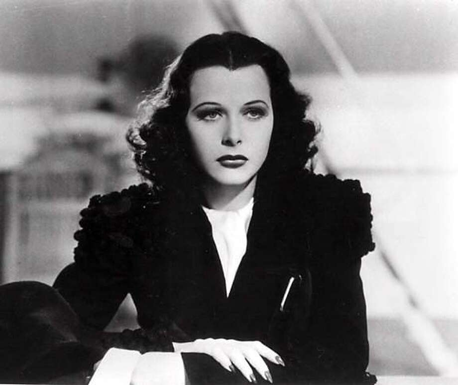 FILE-- Hedy Lamarr is shown in this undated handout photo. Lamarr, the Austrian-born actress, whose exotic glamour and sex appeal sparked a string of hit films of the '30s and '40s, was found dead in her home Wednesday. She was 86. ( AP Photo/Significa, handout ) undated handout photo. B&W ONLY Photo: AP