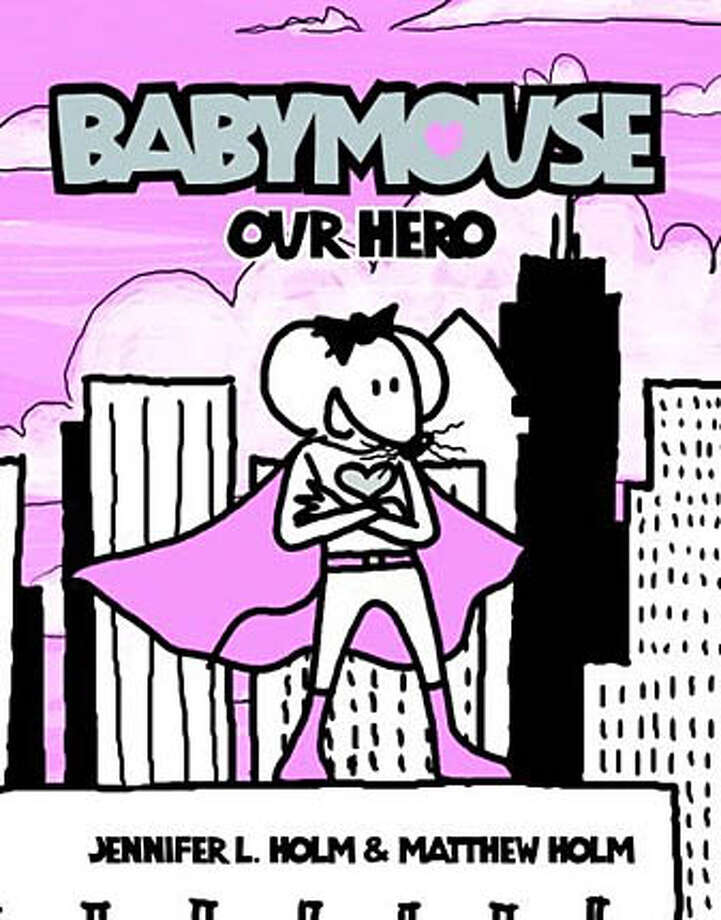 "From ""Babymouse: Our Hero"""
