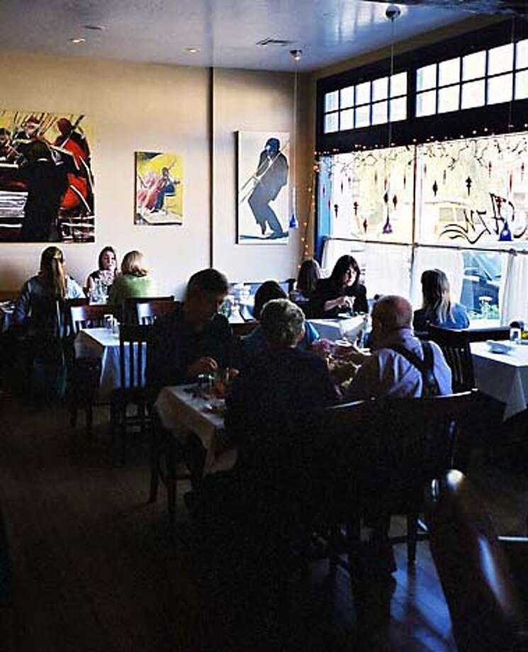 Diners at Azu, a popular restaurant in the bucolic Ventura County town of Ojai, can enjoy tapas and other casual fare.