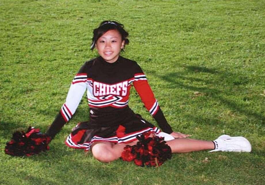 Richmond High School cheerleader Jenny Selitham was killed Thursday night in a car crash on Richmond Parkway. Photo: HO
