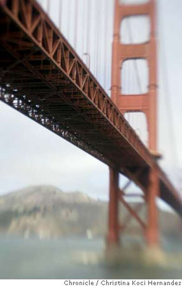 "CHRISTINA KOCI HERNANDEZ/CHRONICLE  Photos of the Golden gate Bridge. Story on GG Bridge suicides for story, ""Lethal Beauty."" Photo: CHRISTINA KOCI HERNANDEZ"