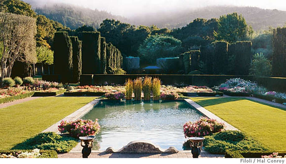 Filoli at 30 landmark garden continues to blossom in its for Filoli garden pool