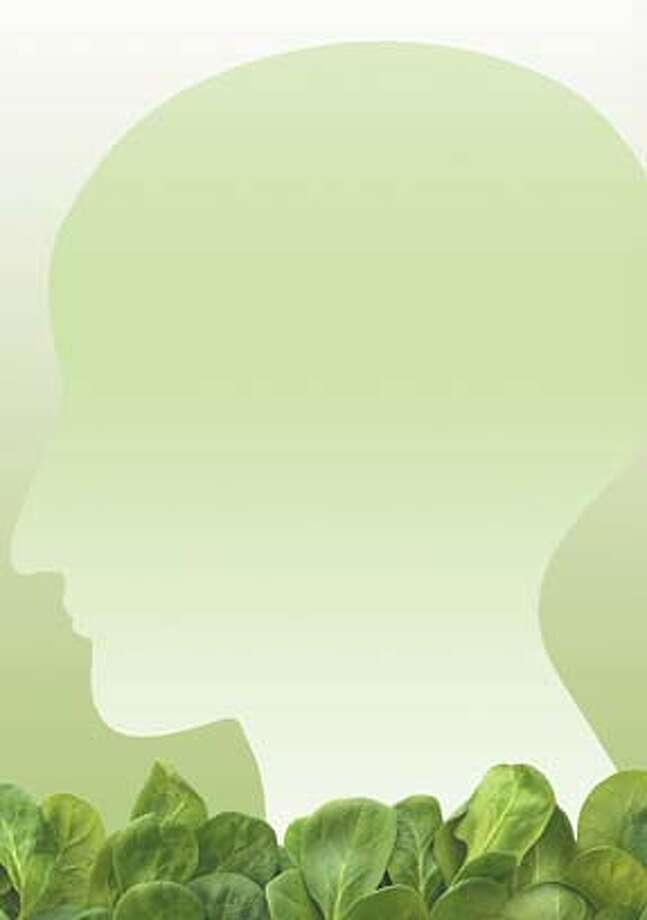 Wallpaper for Prescriptives column on food to eat for your brain 9/16/07 SUNDAY MAGAZINE; credit: photo illustration from a photograph �istockphoto.com/YinYang Photo: Istockphoto.com/yinyang