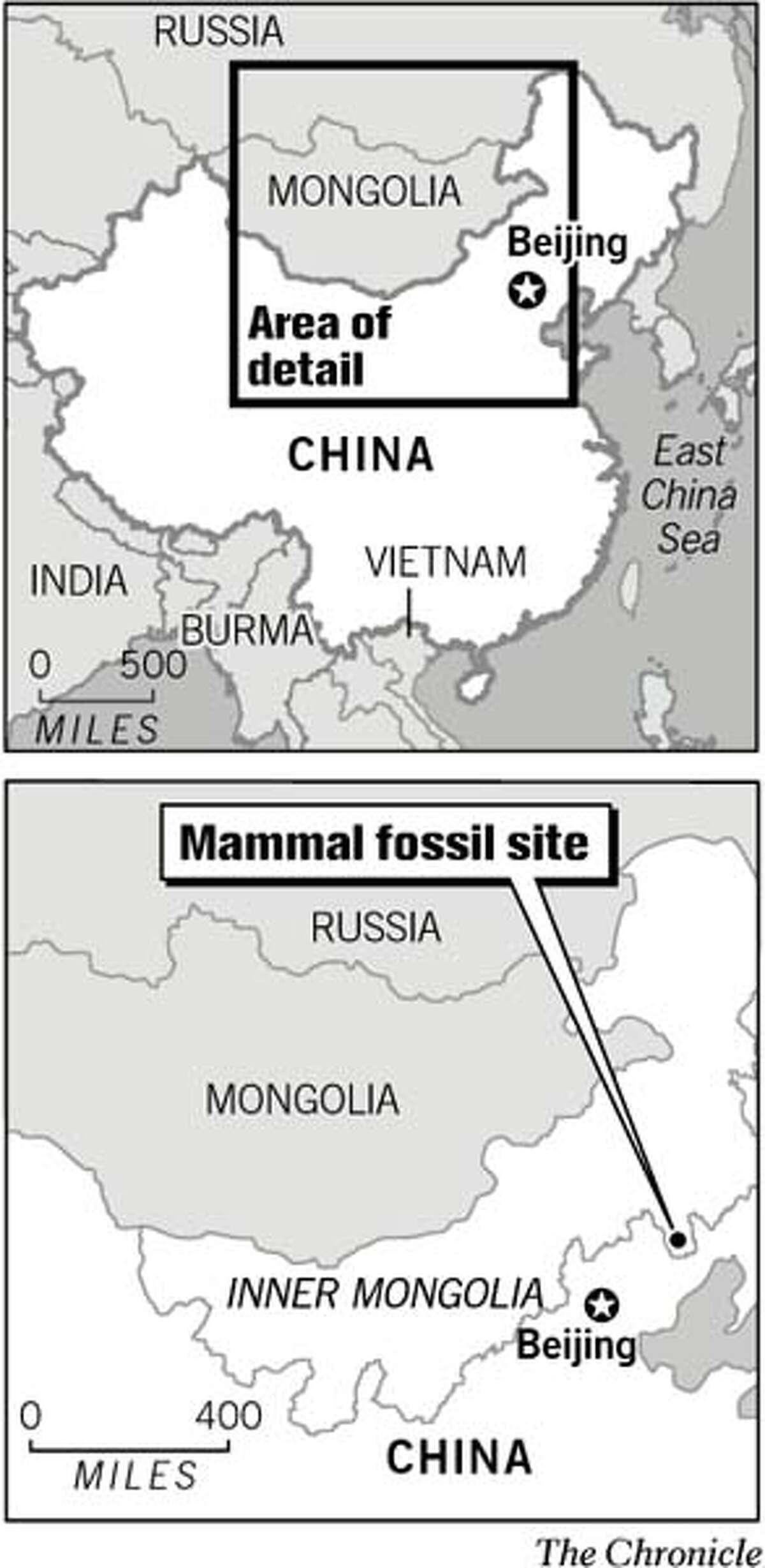 (A2) Mammal fossil site