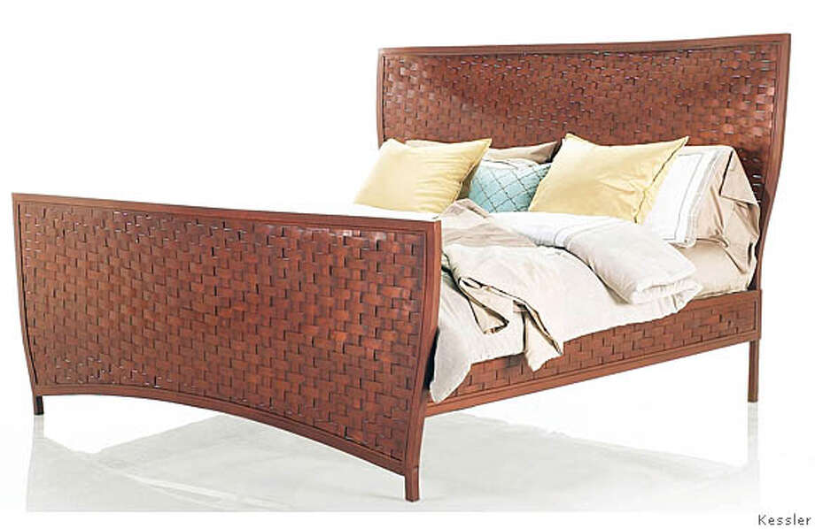 calvin bed.JPG The king-size Calvin bed is part of the new collection shown at Kessler in the SF Mart. Photo: Ho