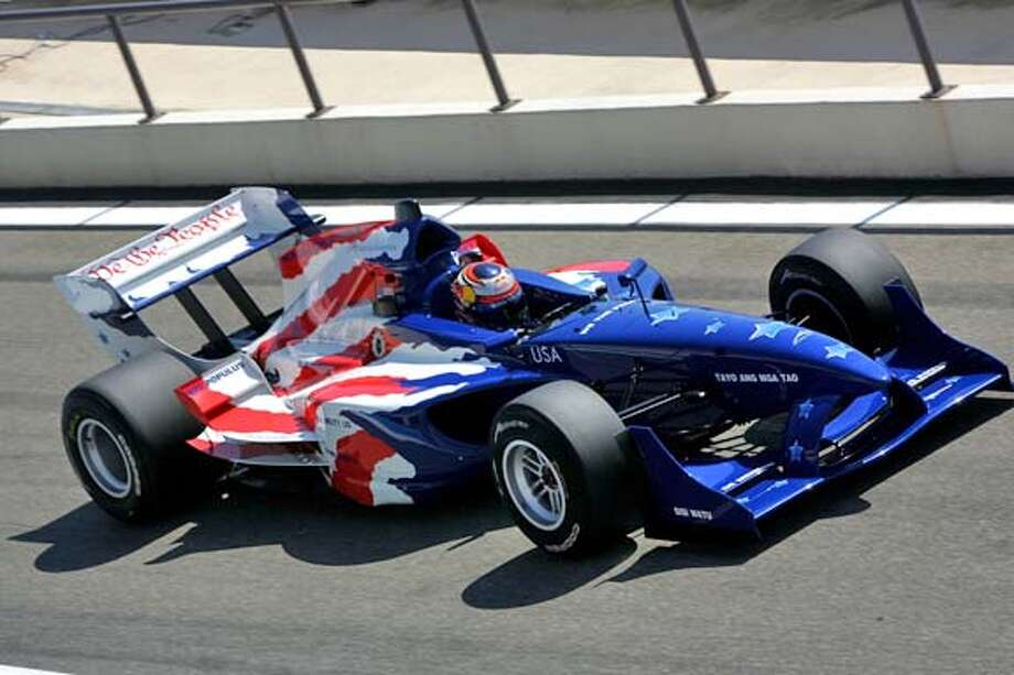 goes with calendar. this is the US team car Photo: Mazda Raceway Laguna-seca
