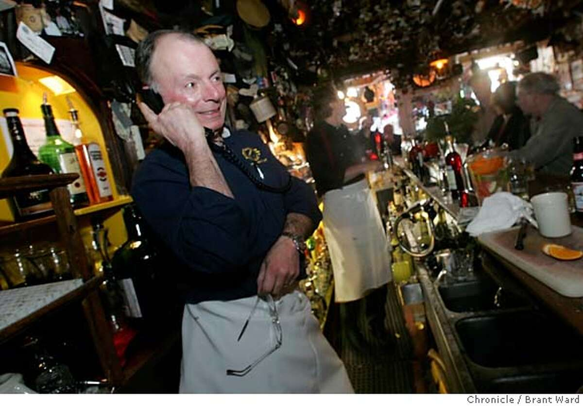 goldspike316_ward.jpg Gold Spike owner Paul Machetti fields countless calls from the press and old friends on his last night. The Gold Spike, a family-style Italian restaurant on Columbus Avenue in San Francisco is having to close its doors Monday night after four generations of family owners. Paul Machetti, who runs the place now, is having to shut the doors because he can't afford the sewage and earthquake upgrades his landlord wants him to make. Brant Ward2/20/06