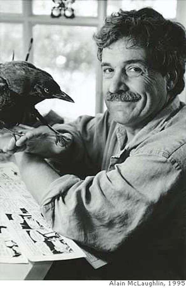 1995 - Phil Frank, Chronicle cartoonist Photo: Alain McLaughlin