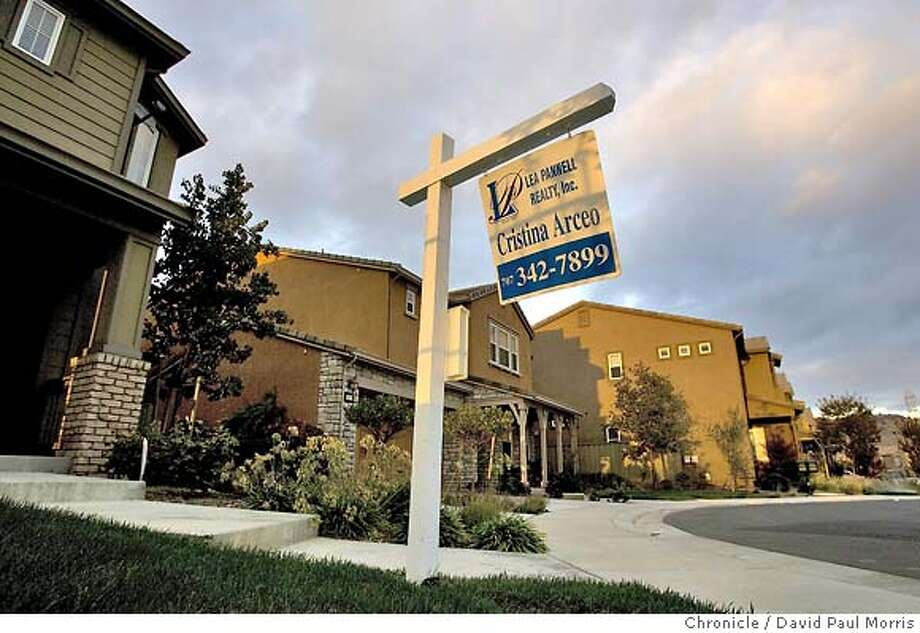 VALLEJO, CA - SEPTEMBER 12: Homes for sale September 12, 2007 in Vallejo, California. (Photo by David Paul Morris/The Chronicle) Photo: David Paul Morris