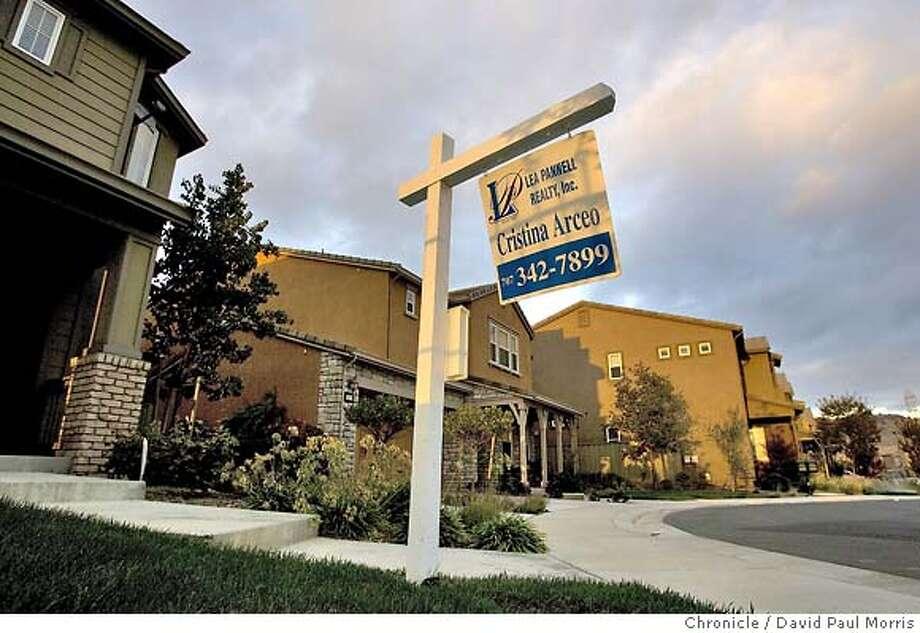 VALLEJO, CA - SEPTEMBER 12: Homes for sale September 12, 2007 in Vallejo, California. (Photo by David Paul Morris/The Chronicle) Photo: David Paul Morris