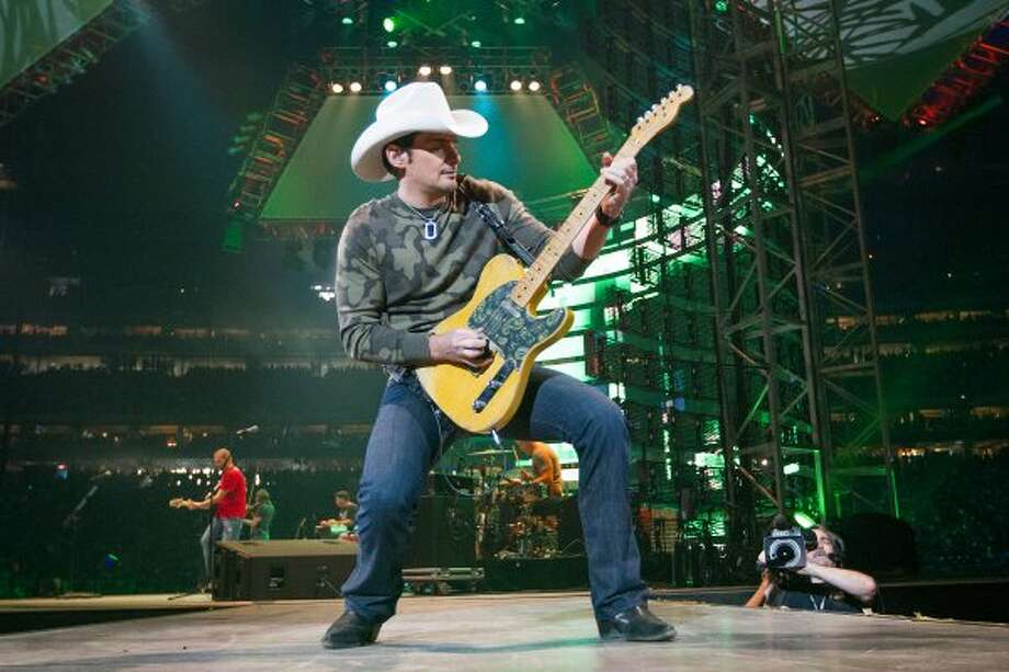 Country crooner Brad Paisley will be on hand.