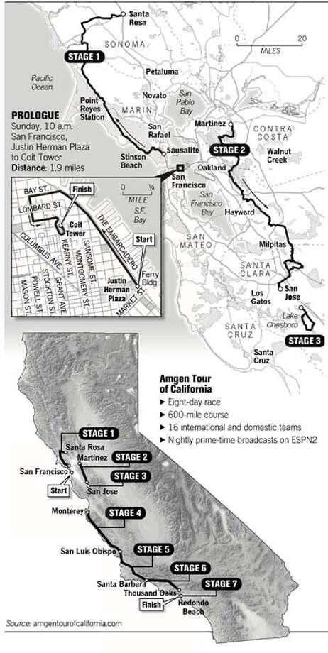 (C13) American Tour of California