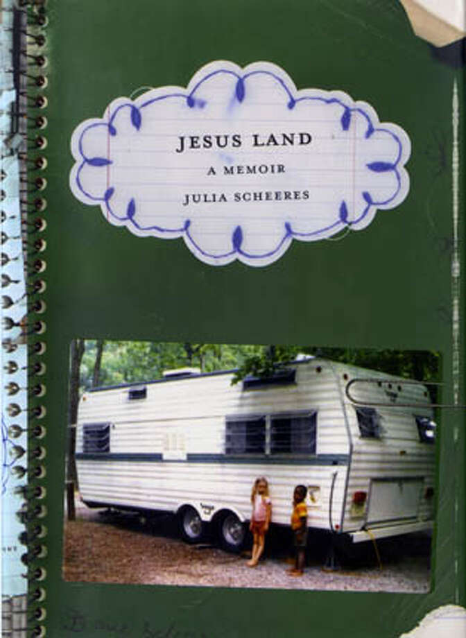 """Julia Scheeres was raised with her adopted brother David. Detail from the cover of """"Jesus Land"""""""