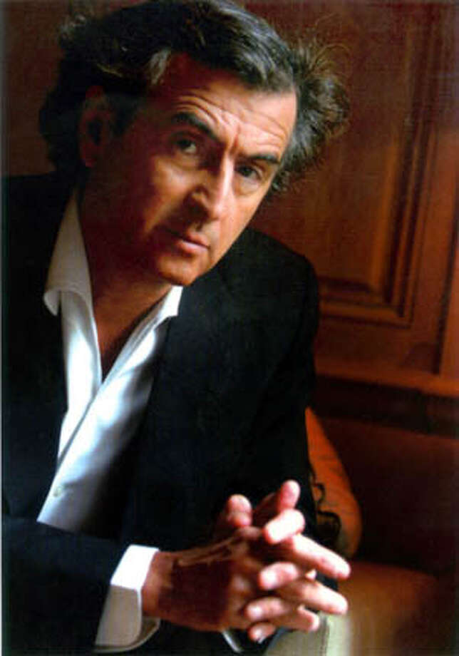 "Bernard Henri-Levy, author of ""American Vertigo: Traveling America in the Footsteps of Tocqueville"" FOR USE WITH BOOK REVIEW ONLY Ran on: 01-29-2006  Photo caption Photo: ThierryDudoit / L'Express / Edit"