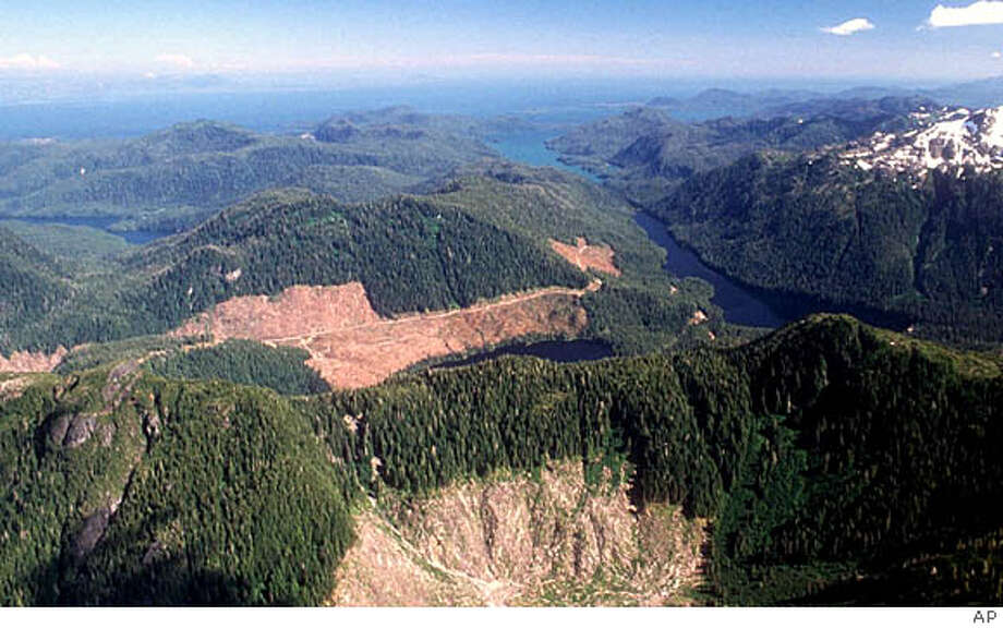 Nearly $49 million was spent in 2004 in Tongass National Forest to boost timber sales. Revenue: only $800,000.  Ketchikan Daily News file photo, 1990, by Hall Anderson