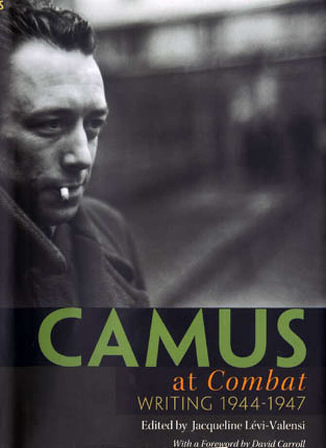 "Cover of ""Camus at Combat: Writing 1944-1947""  Ran on: 02-12-2006 Photo: No Byline"