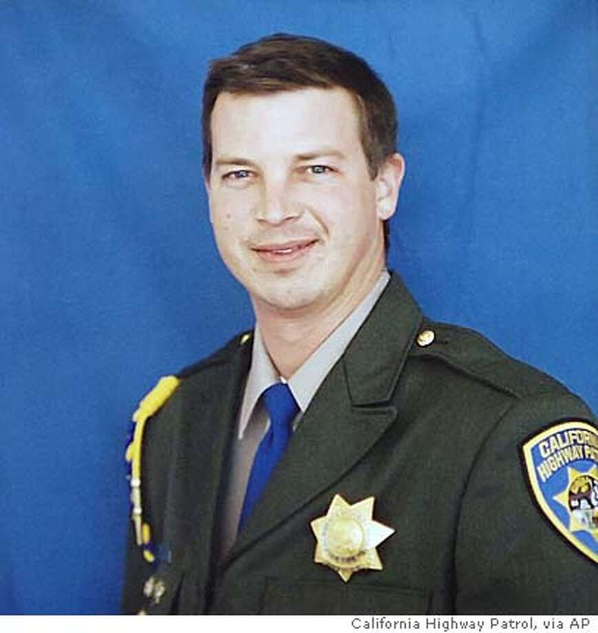 This photo released by the California Highway Patrol, Friday, Feb. 17, 2006, shows CHP Officer Earl Scott in an undated photo. Scott, 36, was shot and killed early Friday during a traffic stop on Highway 99 in Ripon, Calif., making him the fifth CHP officer killed on duty in the last five months, the highway commissioner said. (AP Photo/California Highway Patrol via The Modesto Bee) ** MAGS OUT, TV OUT, , ONLINE OUT **
