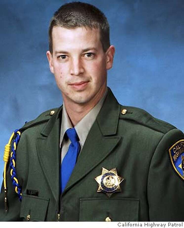 This photo provided by the California Highway Patrol shows CHP Officer Earl Scott in an undated photo. Scott was shot and killed early Friday, Feb. 17, 2006, during a traffic stop on Highway 99 near Ripon, Calif., about 10 miles north of Modesto, Calif., Highway Commissioner Mike Brown said. (AP Photo/California Highway Patrol)
