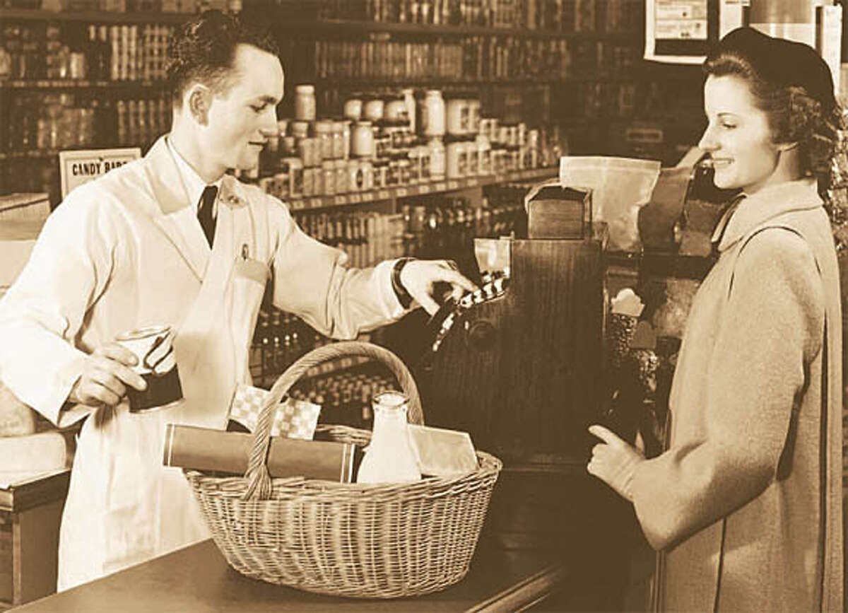 The modern supermarket is a fairly recent invention.