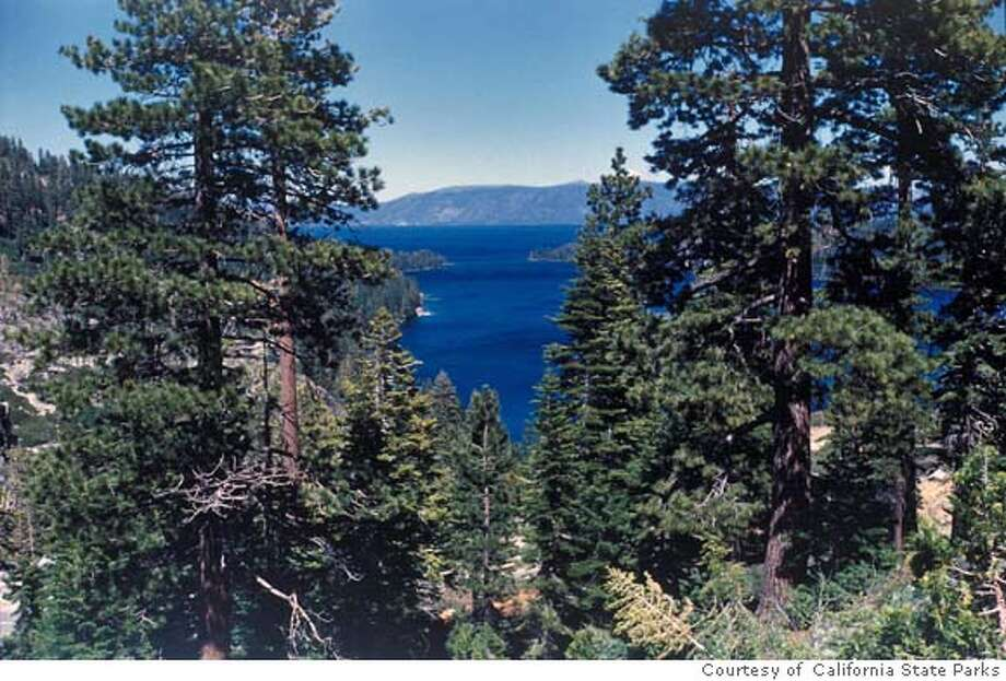 Emerald Bay State Park. Courtesy of California State Parks, 2007. Photo: Handout