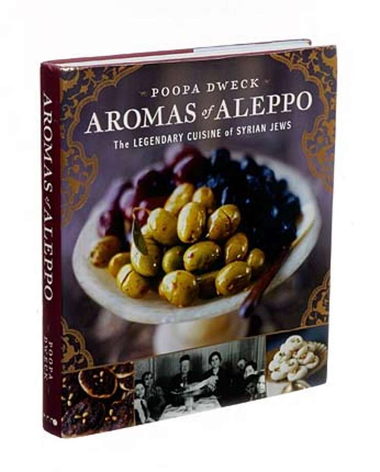 "(NYT17) UNDATED -- Sept. 4, 2007 -- AROMAS-BOOK-REVIEW -- ""Aromas of Aleppo: The Legendary Cuisine of Syrian Jews"" by Poopa Dweck. (Lars Klove/The New York Times) Photo: Lars Klove"