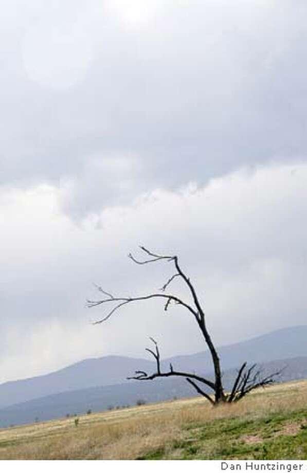 Caption: New Mexico landscape Photo: Credit: Dan Huntzinger