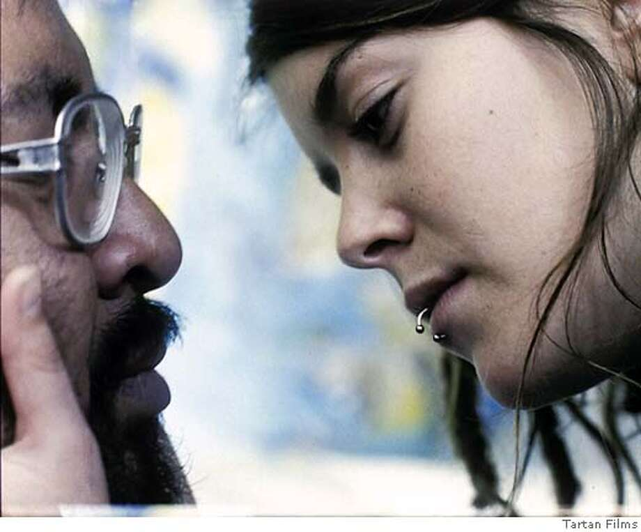 "Caption: Non-actors Marcos Hernandez and Anapola Mushkadiz in the movie, ""Battle in Heaven."" Credit: Still from ""Battle in Heaven"" Photo: Battle In Heaven"